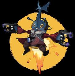 Heracross as Star Lord