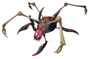 Ariados as Spider-Man