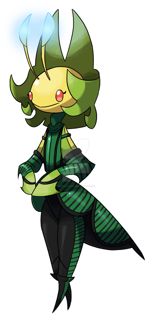 Leavanny as Mantis