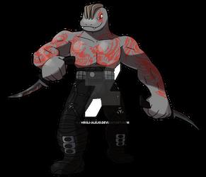 Machoke as Drax