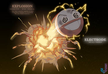 Electrode performing Explosion