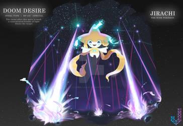 Jirachi performing Doom Desire