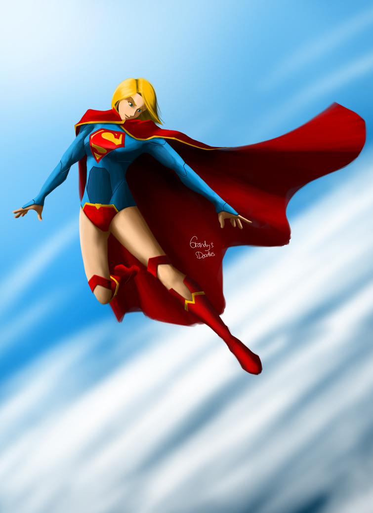 Supergirl by amateurartworker