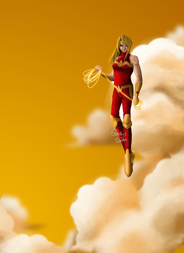 Cassie Sandsmark (Wonder Girl) by amateurartworker