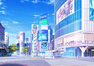 Shibuya-Cityscape