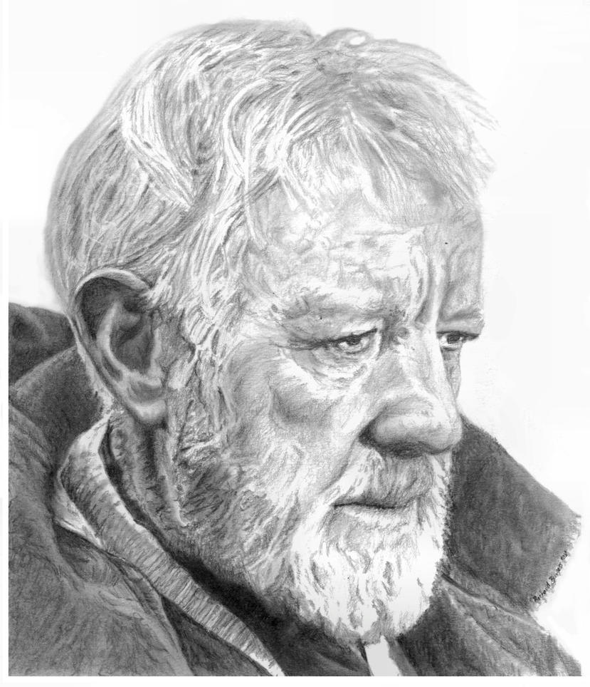 Old Ben Kenobi by RichardBurgess