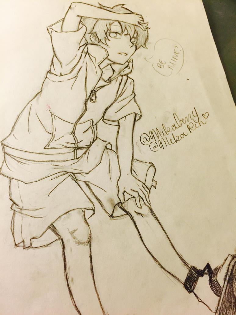 Hibiya Amamiya - Be Mine? by Mika-Rin
