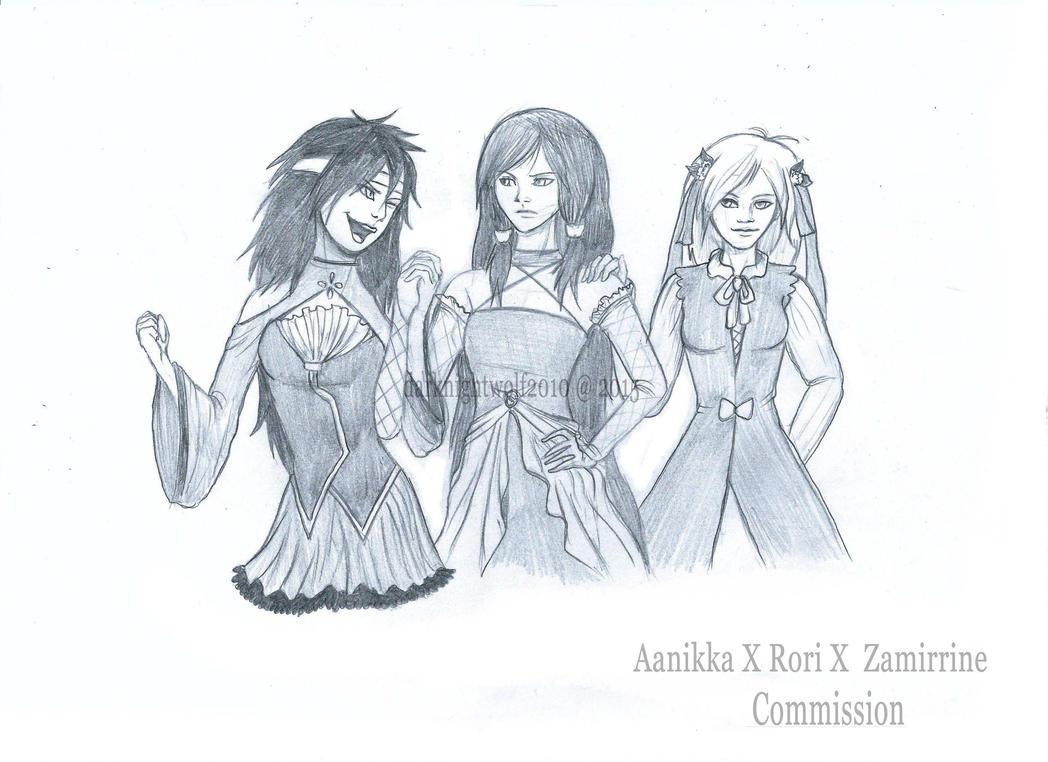 Commission: AaikkaxRorixZairrine by darknightwolf2010