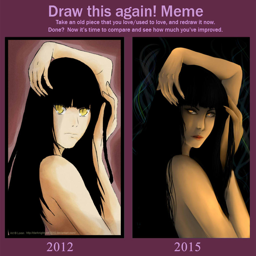 Draw Me again: Alex by darknightwolf2010