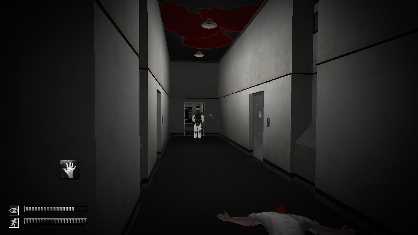 Guard In Scp 970 Hallway By Endshn On Deviantart