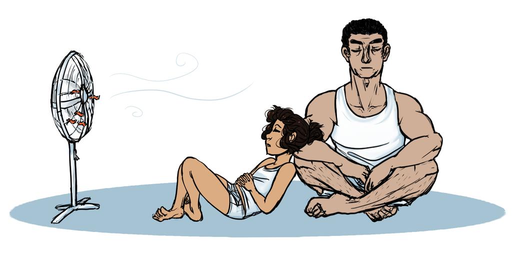 hot summer by Gilkinnilk