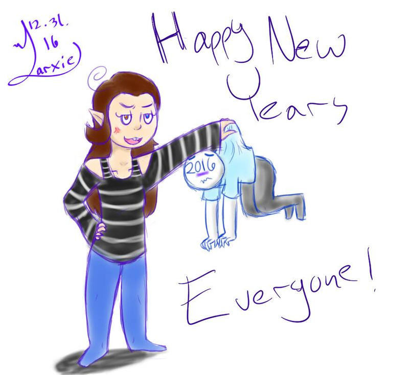 Happy New Year by LarxieArveri