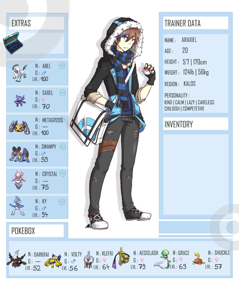 Pokemon OC! Ara - unfinished by cytes