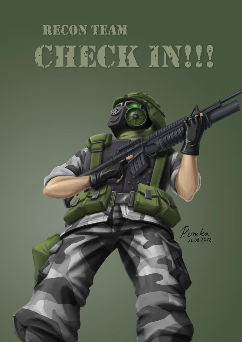 Corporal Shephard is it? by Goatsilla