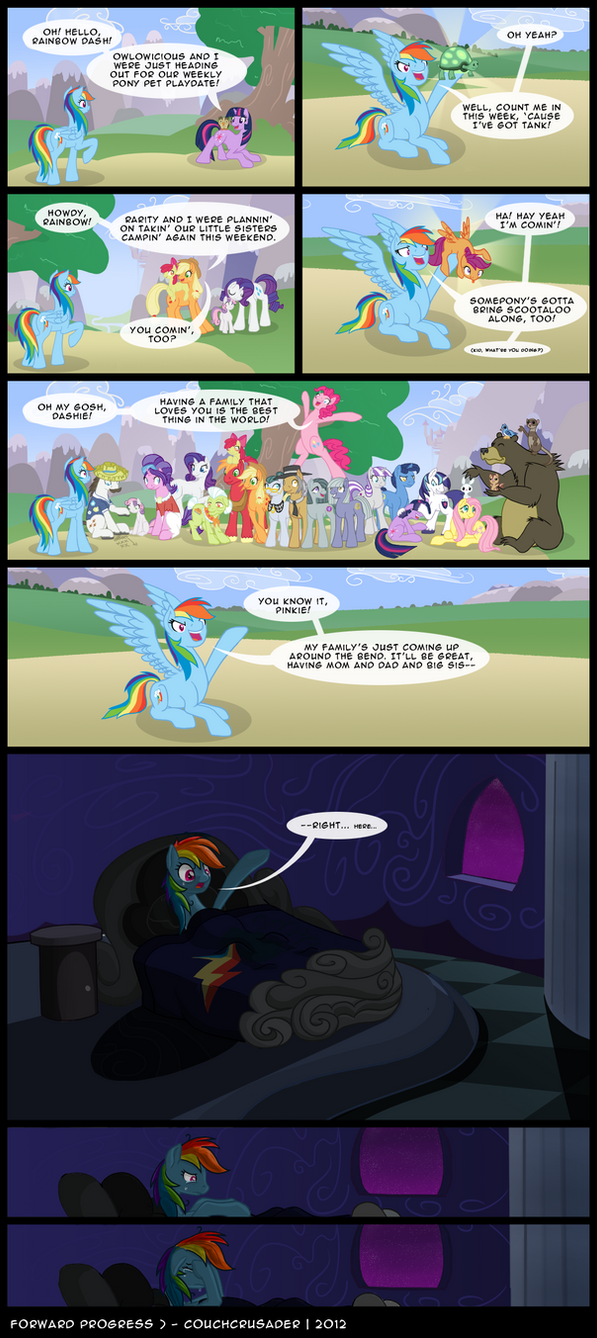 Forward Progress by Couch-Crusader