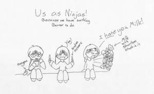 Us as Ninjas