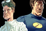Dr. Horrible and Captain Hamme