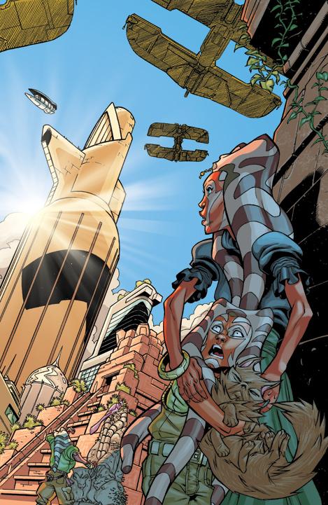 Star Wars: Clone Wars 1, pg 2 by michael-e-wiggam on