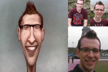 Michael caricature by michael-e-wiggam