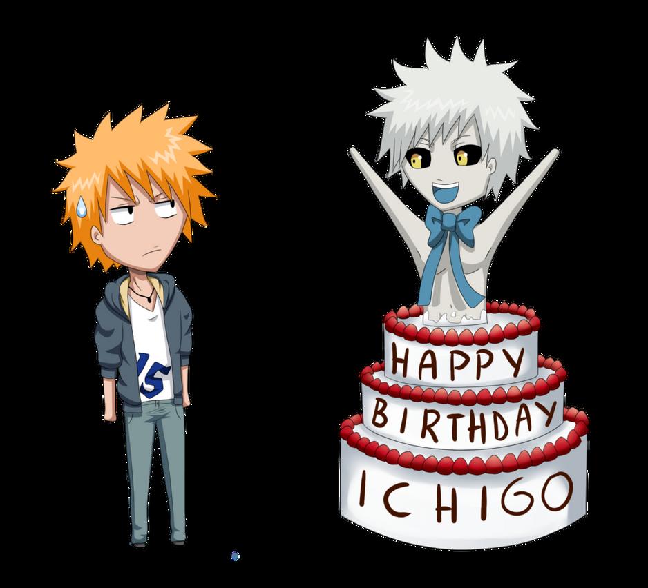Happy Birthday Ichigo by miiChaneko