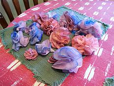 Dyed Paper Roses by SamLesCreations