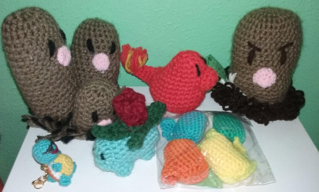 Crochet Pokemon - Shut Up And Take My Yen | 615x1024