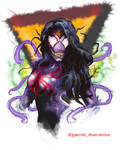 Spider-Woman Venomized