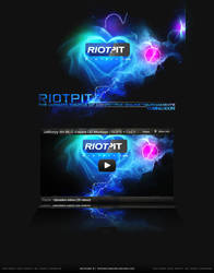 RiotPit Coming Soon Page by xFMxH1TMAN
