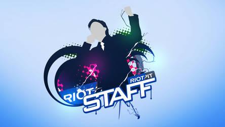 Riotpit Staff Wallpaper by xFMxH1TMAN
