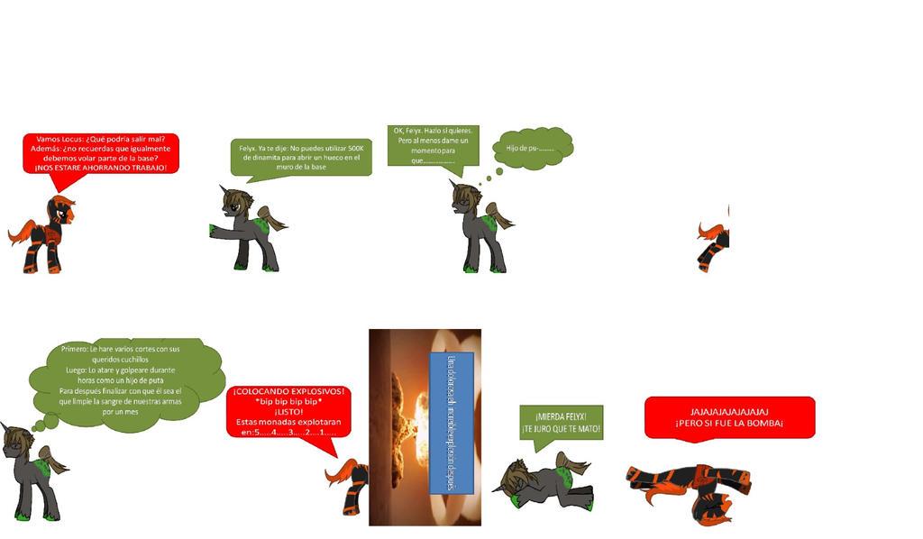 Locus, Felyx y la explosion jodidamente dolorosa by KaiburrVSG