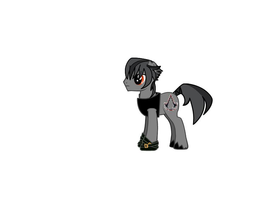 Killer blade -assasin- Pony sin capa CON cm by KaiburrVSG
