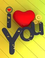 I Love ... by Sha-X-doW
