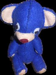 Nounours bleu