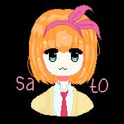 M-chan! Pixel by Sato-Underthebrigde
