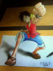 Luffy by DeviantMarx