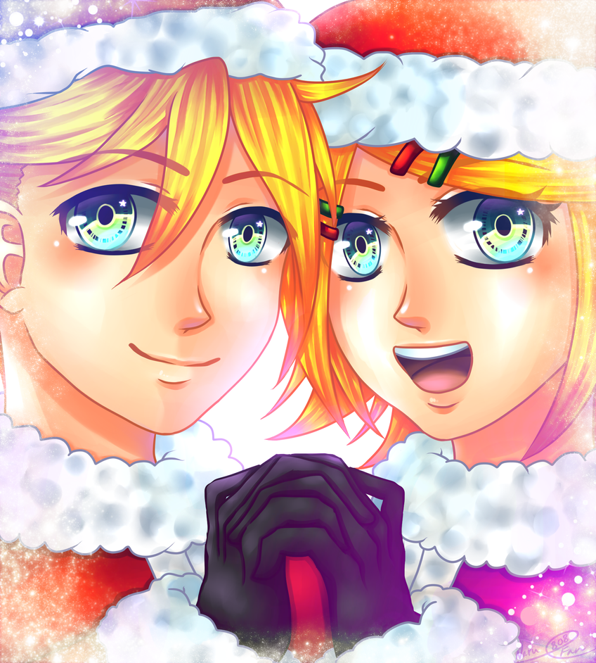 A Rin and Len Christmas by NaruFan808