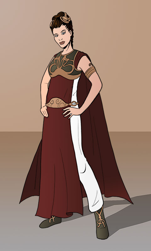 Slave Leia Redesigned by Hyaroo ...  sc 1 st  Hyaroo - DeviantArt & Slave Leia Redesigned by Hyaroo on DeviantArt