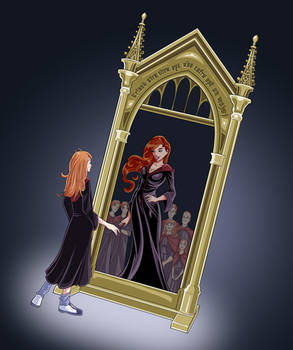 Veronica Weasley and the Mirror of Erised