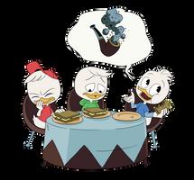 Ducktales (2017) Elegant Book of Manners