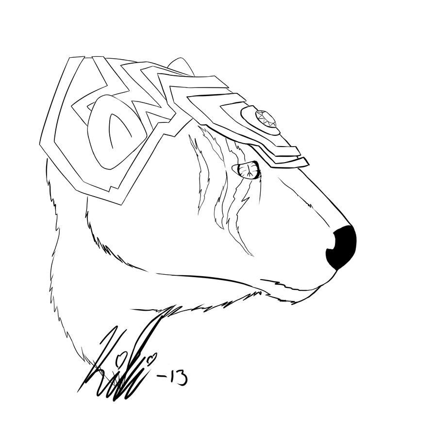 Polar bear polar bear do you hear coloring pages