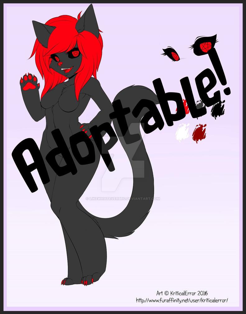 OTA Demon Kitty (CLOSED) by LikeWhateverBro