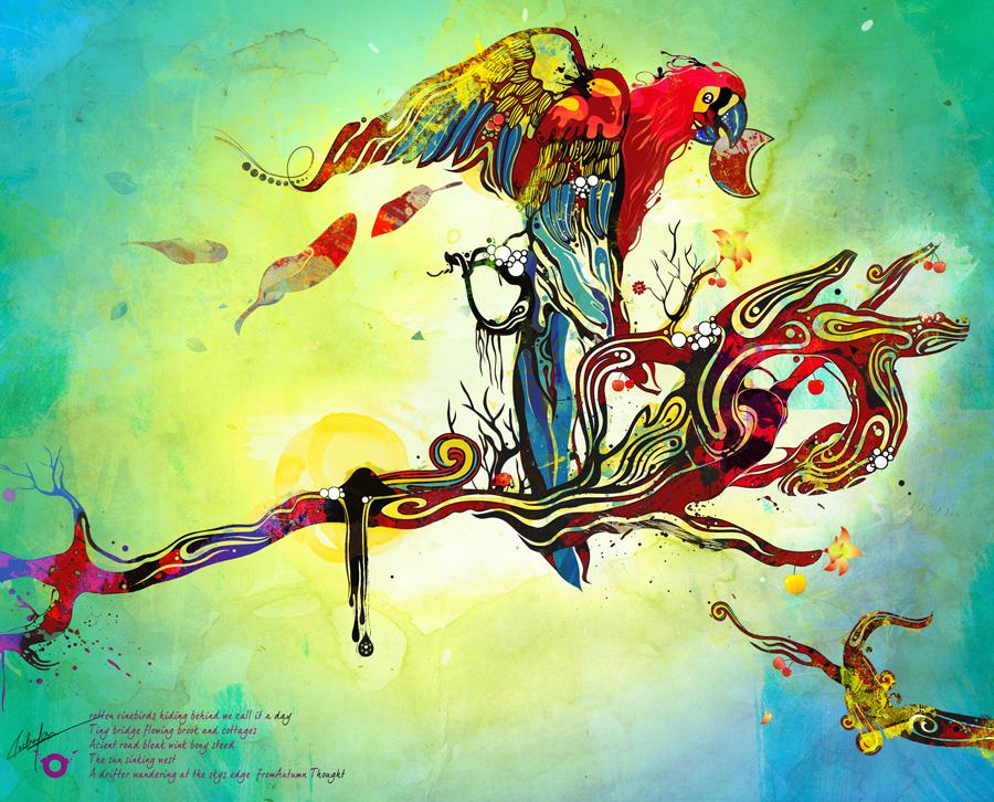 Tutoriais Illustrator 10 Ilustradores que Você Deveria Conhecer Vine_by_saltyshadow