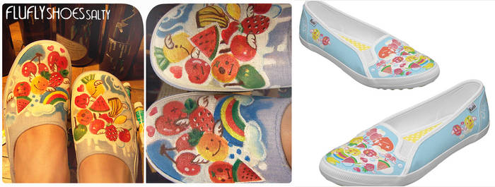 painted shoes buy on zazzle