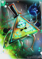 Bill Cipher : Look Who's Back! by arebean