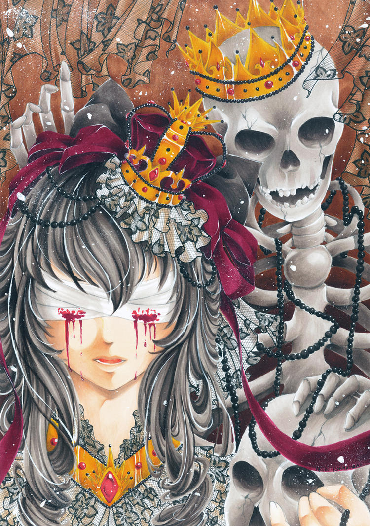 King Skeleton by AsuraRena