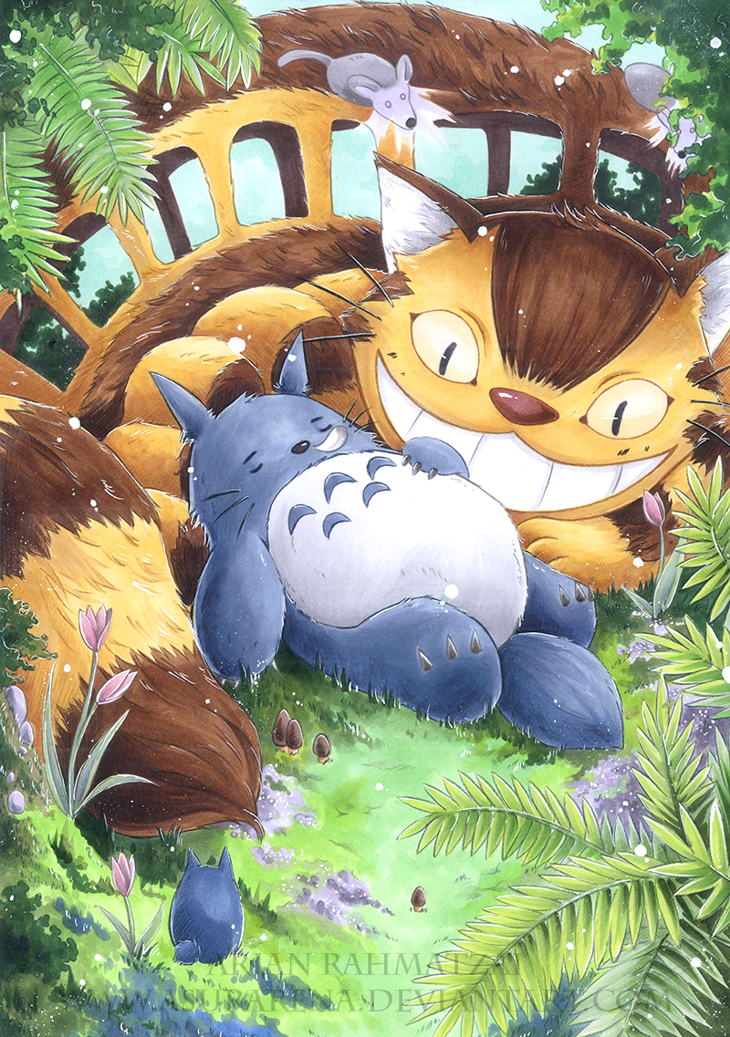 Totoro by AsuraRena