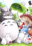 Family Totoro