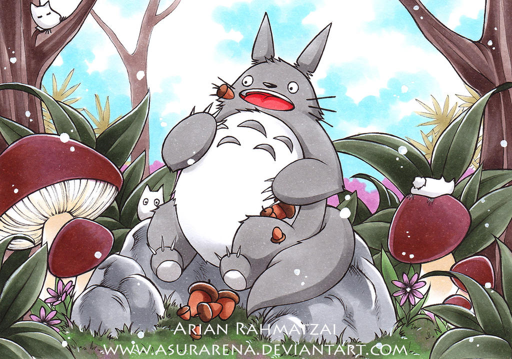 (RAFFLE) Totoro by AsuraRena