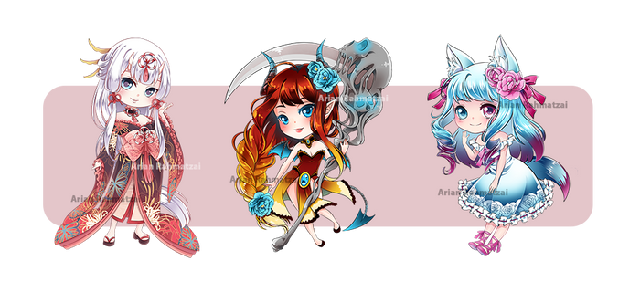 CHIBI Love Nikki and OCs