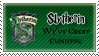 Slytherin Stamp by Patronus-Charm